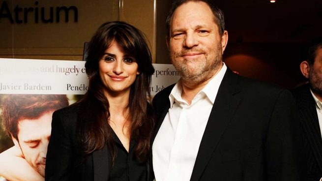 Penélope Cruz, Harvey Weinstein