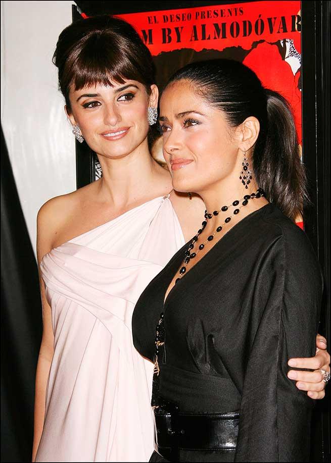 Penélope Cruz y Salma Hayek