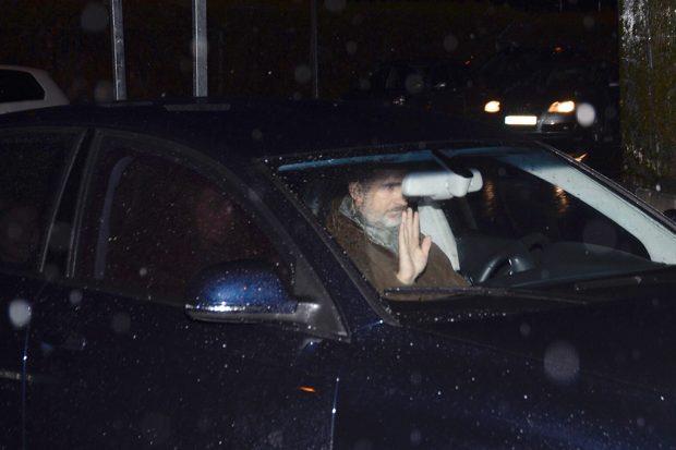 Don Felipe a su llegada a casa de Jesús Ortiz / Gtres