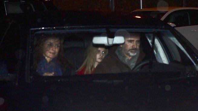 Don Felipe y doña Letizia, merienda de Reyes con sus hijas en casa de  Jesús Ortiz