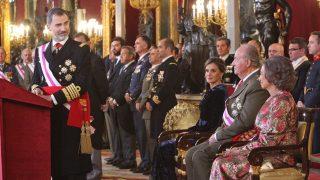 Los Reyes y los Eméritos en la Pascua Militar / Casa Real