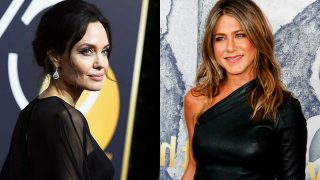 Angelina Jolie y Jennifer Aniston, en fotomontaje de LOOK / Gtres