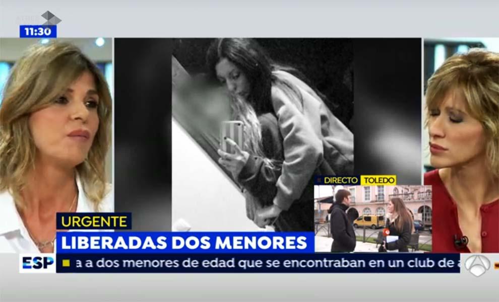 Arantxa de benito sobre diana quer mi hija est en for Espejo publico diana quer