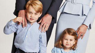 Los príncipes Jorge y Charlotte / Gtres