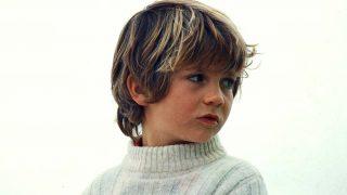 El rey Felipe VI en una imagen de su infancia