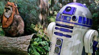 R2D2 te espera en los bosques de Endor / Expo Wars