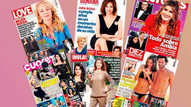 revistas del 10 de enero de 2018 Feliciano López, Sandra Gago