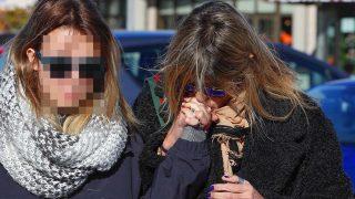 Arancha de Benito acompaña a su hija al funeral de Diana Quer/Gtres