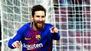 Leo Messi durante el partido de Liga contra el Levante / Gtres