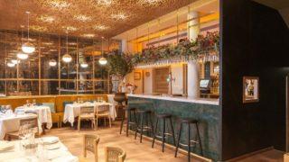 Restaurante Cinco Jotas en la calle Jorge Juan, en pleno centro de Madrid.