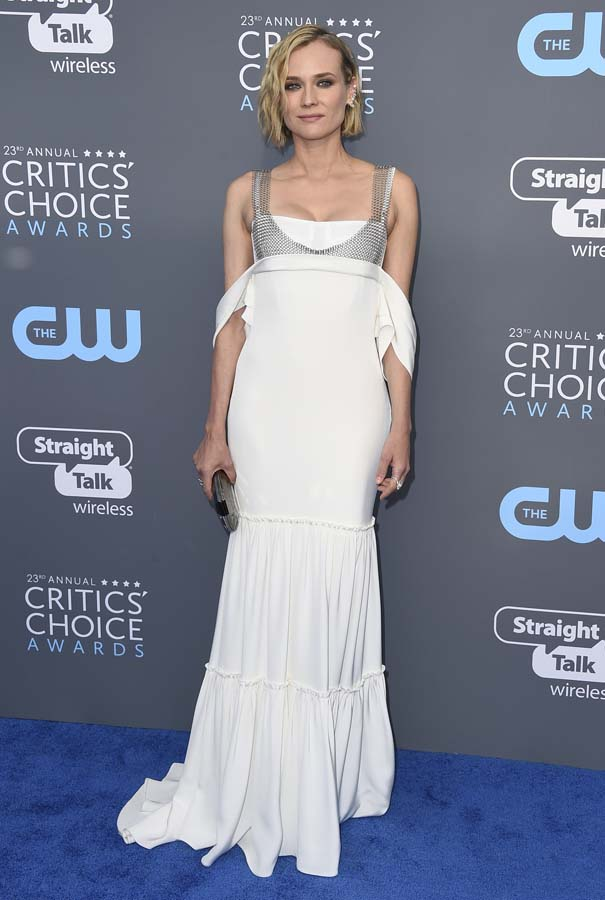 Diane Kruger en los Critics Choice Awards 2018