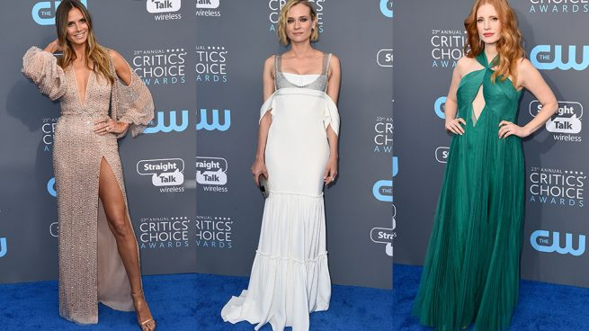 Alfombra roja de los Critics Choice Awards