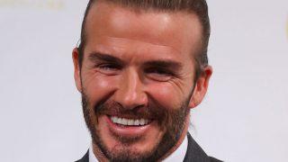 David Beckham se convierte en el primer hombre con su propia línea de belleza / Gtres
