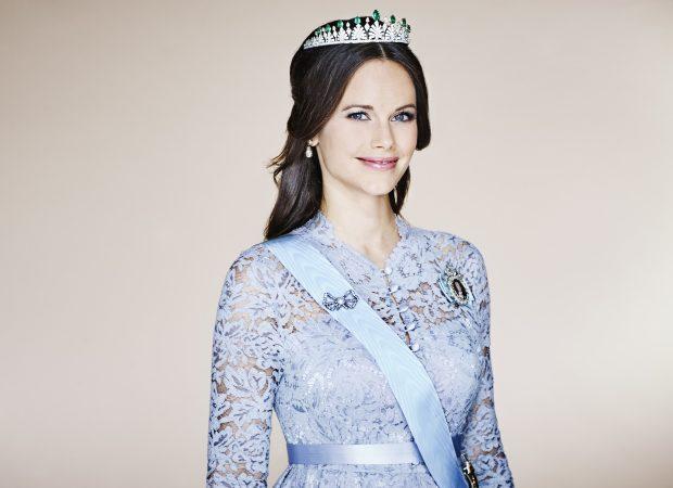 Sofía de Suecia con su tiara