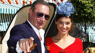 Carlos Herrera junto a su hija Rocío /Gtres