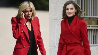 La reina Letizia y Brigitte Macron / Gtres