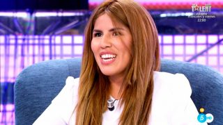 Chabelita se ha sentado en 'Sábado Deluxe' / Telecinco