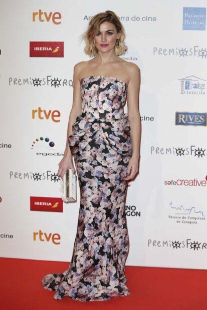 Marta Nieto, en los Premios Forqué 2018
