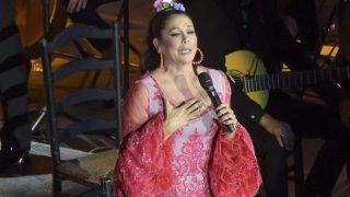 GALERÍA: Así fue el concierto más duro de Isabel Pantoja / Gtres