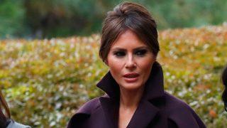 Melania Trump ha conquistado el invierno con sus abrigos / Gtres
