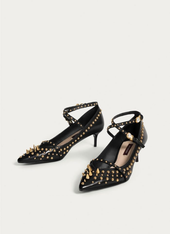 zapato de pinchos de Uteqüe de Letizia