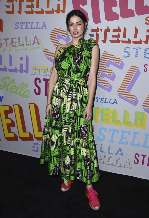 Ana de Armas durante la presentación de Stella McCartney en Los Ángeles / Gtres