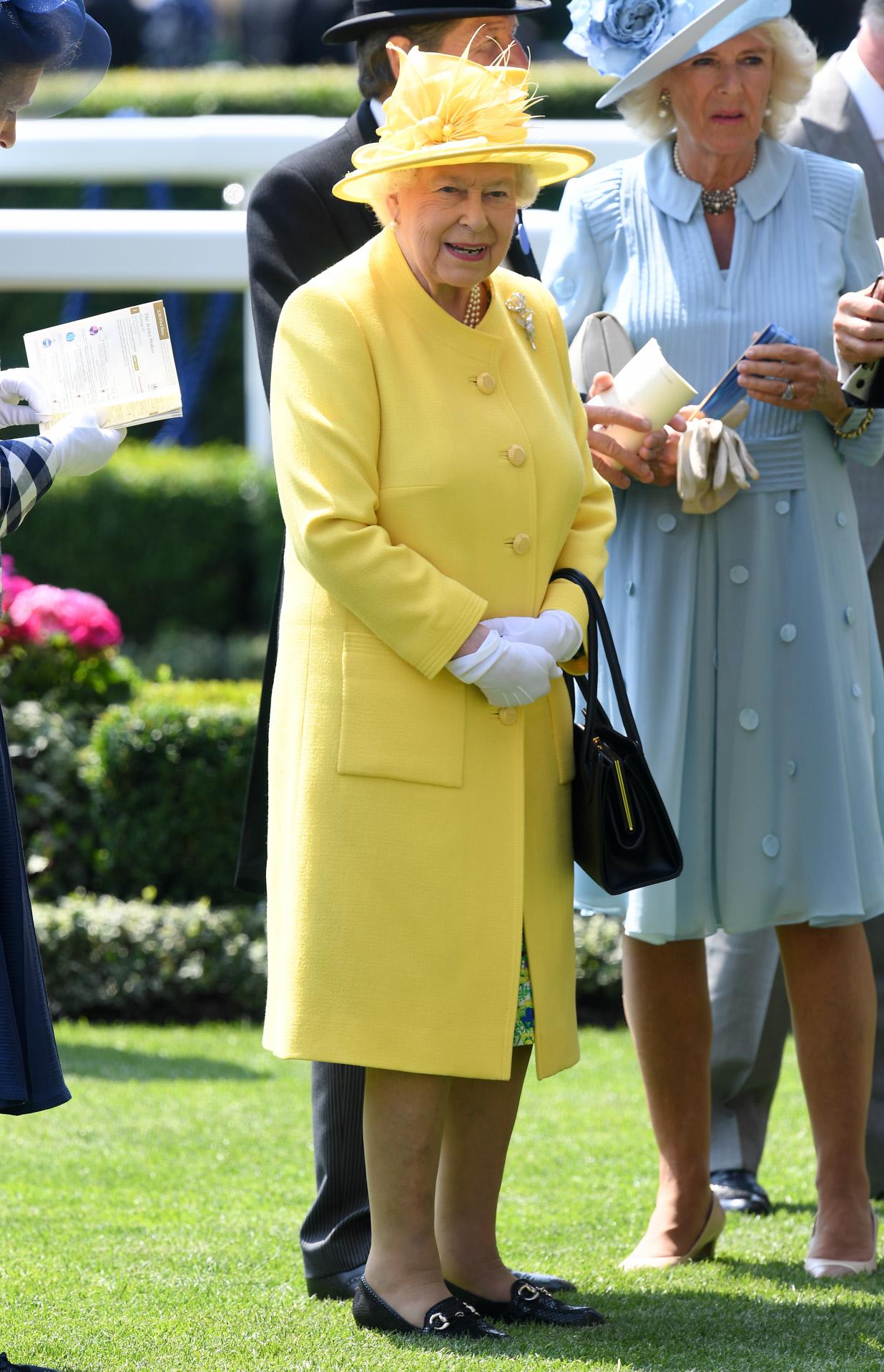 La reina Isabel II cae rendida al color del 2018