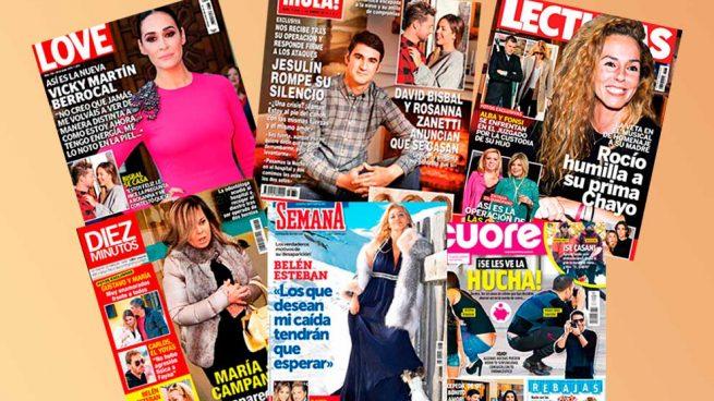 revistas del corazón 17 de enero de 2018 Jesulín