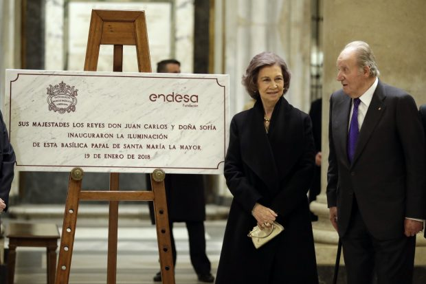 Los Eméritos reaparecen tras la polémica visita a la infanta Cristina y Urdangarin