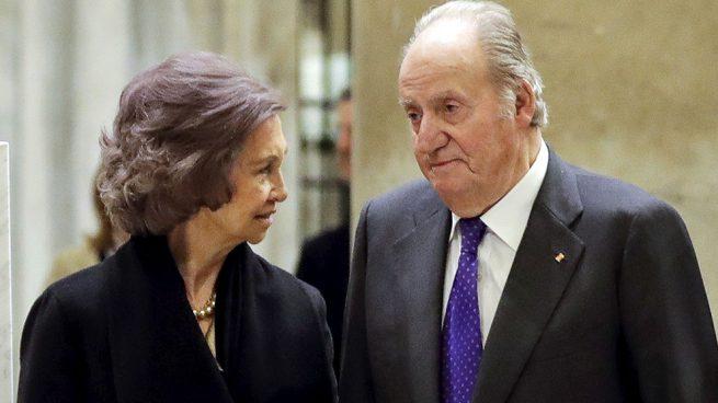Los reyes Juan Carlos y Sofía