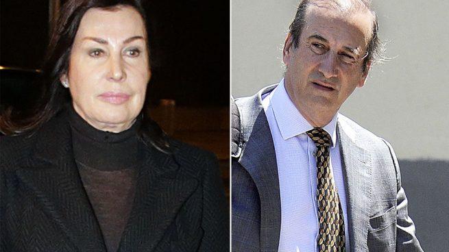 Francis Franco y Carmen Martínez-Bordiú