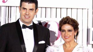 Marina Danko y el diseñador Alejandro de Miguel en una imagen de archivo / Gtres