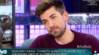 Alejandro Albalá durante su entrevista de 'Sábado Deluxe' /Mediaset