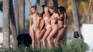 Los ángeles de Victoria's Secret en Miami. / Gtres