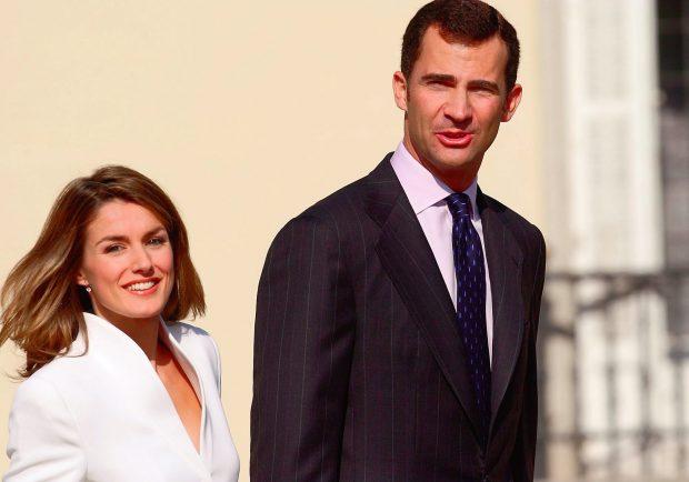 Don Felipe y Letizia Ortiz en una imagen de su compromiso / Gtres