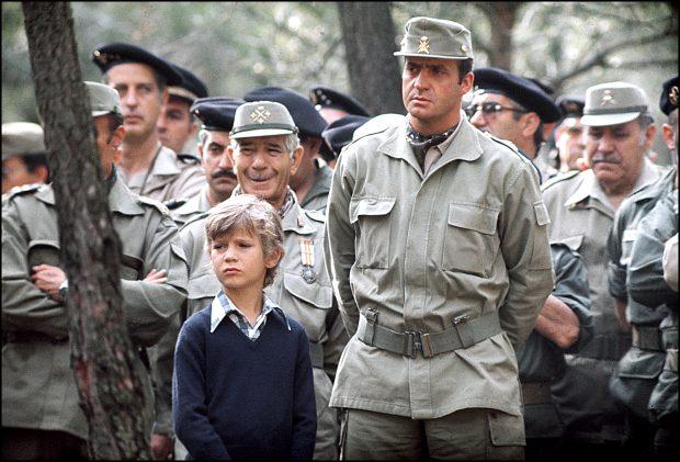 El rey Felipe con su padre / Gtres