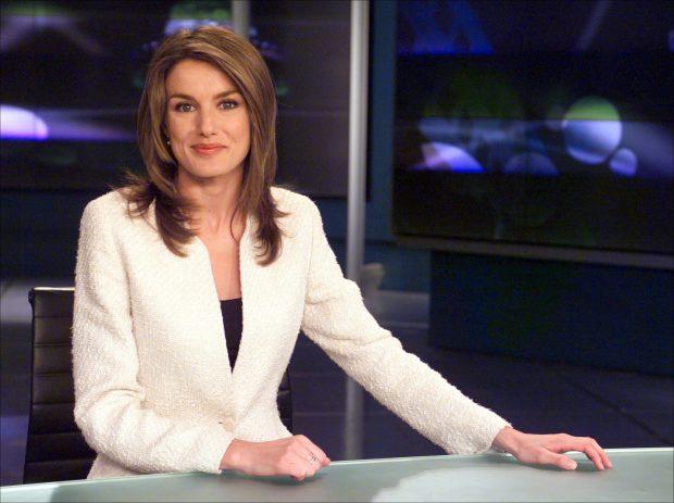 Letizia Ortiz en su etapa de periodista / Gtres