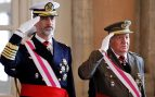 Los reyes Juan Carlos y Felipe