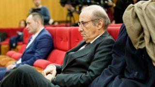 Francis Franco durante el juicio en Teruel / Gtres