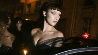 La modelo Bella Hadid en París. / Gtres