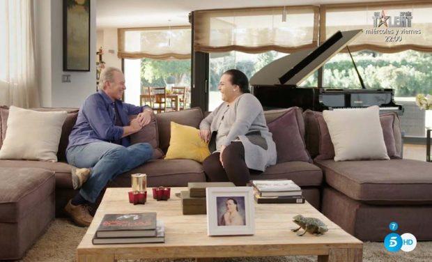 "Falete se abre en canal frente a Bertín Osborne: ""Mi pareja no soporta al Falete artista"""