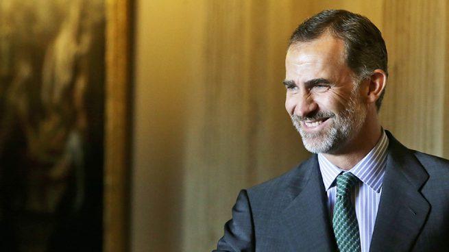 El rey Felipe de Borbón