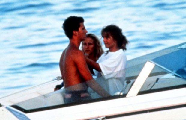 El príncipe Felipe e Isabel Sartorius