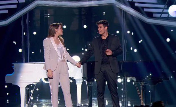 El beso entre Amaia y Alfred que selló su pasaporte a Eurovisión 2018