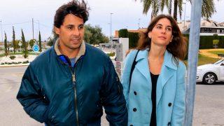 Francisco Rivera y Lourdes Montes a su llegada al hospital para conocer a Carlota Rivera / Gtres
