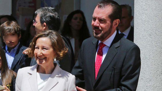 Jesús Ortiz y Paloma Rocasolano