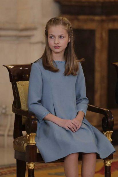 El día que Leonor eclipsó a Letizia con su look