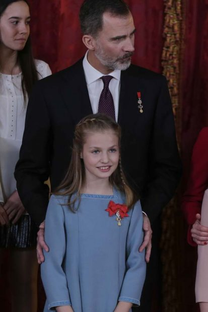 Princesa Leonor Toisón de Oro