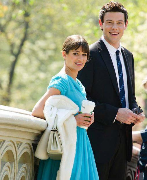 Lea Michele y Cory Monteith