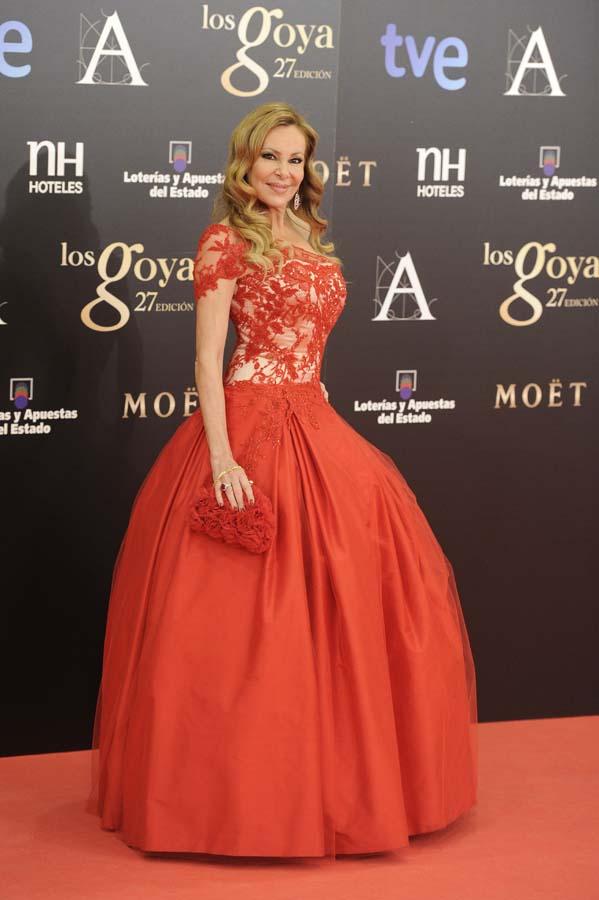 Ana Obregón peor vestidas historia de los Goya